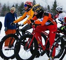スノーデュアスロンBバイクコース