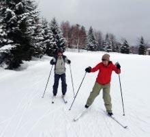 歩くスキー体験