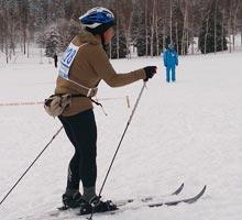 スノーデュアスロンAクロスカントリースキー