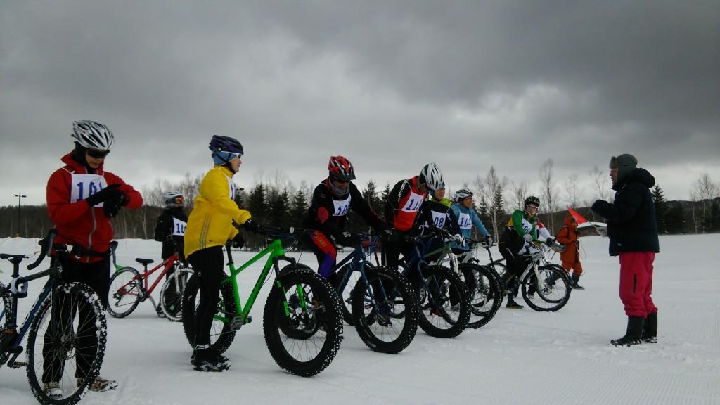 スノーデュアスロン_ファットバイク大会
