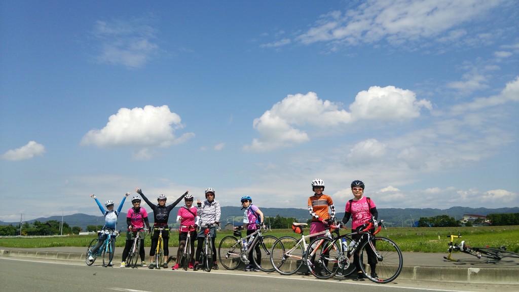 北海道サイクリング-長沼100km