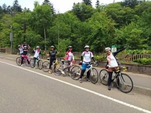 札幌近郊サイクリングコース-恵庭