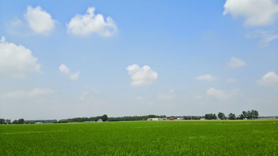 北海道サイクリングコース-長沼
