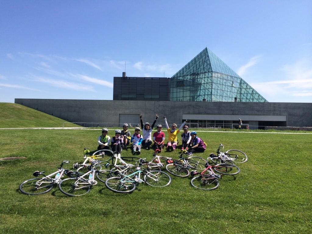 札幌サイクリングおすすめコース・モエレ沼公園