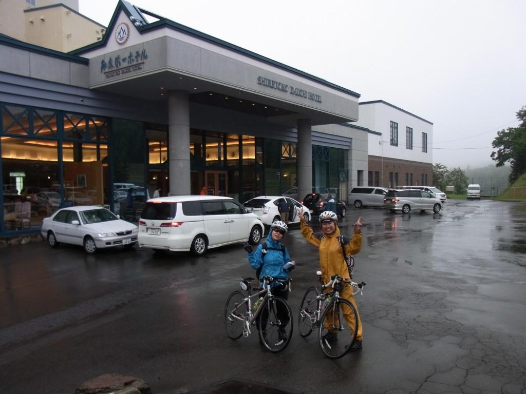 知床第一ホテル 自転車