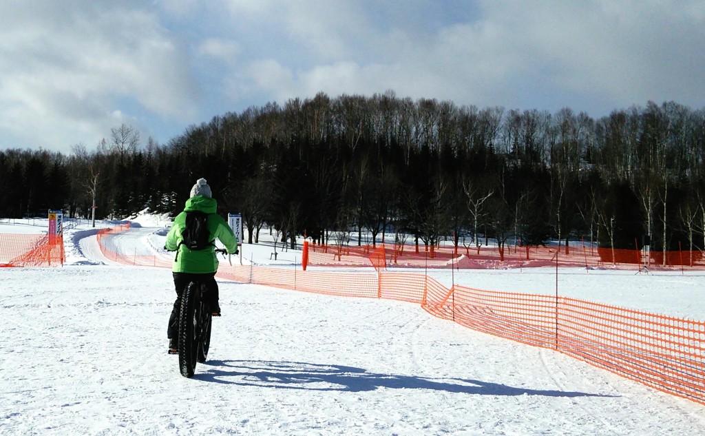 北海道ファットバイク
