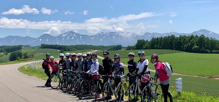 美瑛を楽しむならサイクリングがおすすめ!爽快&美味しい北海道サイクリングツアー~ガールズライドin美瑛2019【開催レポ】~