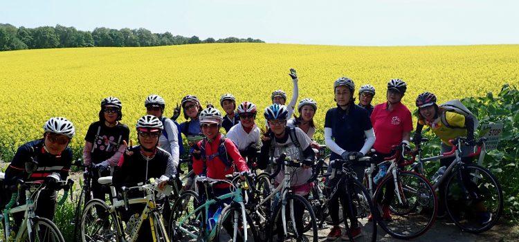 菜の花畑を楽しむならサイクリングがおすすめ!ロードバイクで巡る北海道ツアー~ガールズライドin滝川・江部乙2019【開催レポ】~