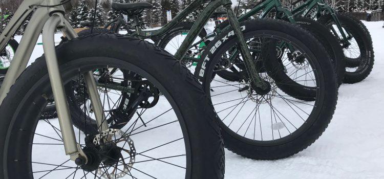 レンタルファットバイク&歩くスキーセットで参加OK!ファットバイク残数台!