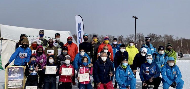 【競技結果】第8回滝野公園大会/スノーデュアスロン北海道2021